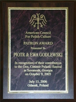 Thanks Committee of the American Council for Polish Culture