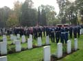 4th October 2007 - Burial of the Halifax airplane crew, shot down in August 1944